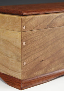 Cherry with Brazilian Cherry Panel Box