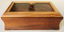 Load image into Gallery viewer, Walnut and Sycamore Box   (#31)