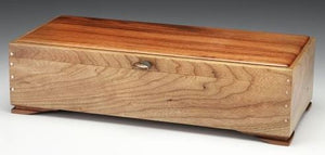 Jewelry Box - Cherry and Goncalco Alves/Natural Stone