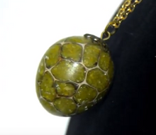 Load image into Gallery viewer, Green Opal Pendant with Chain