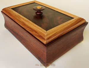 Walnut and Sycamore Box   (#31)