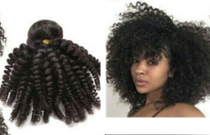 9A Grade Brazilian Afro Kinky Curly Remy Virgin Hair Unprocessed Hair 3 Bundles Deals - Jeybeauty