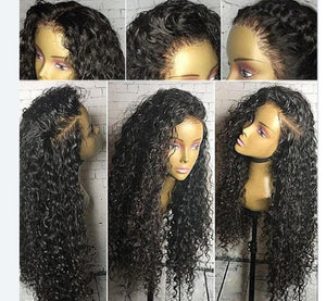 Brazilian  Mink Virgin  Pre-Plucked Lace Front Human Hair Wigs With Baby Hair - Jeybeauty