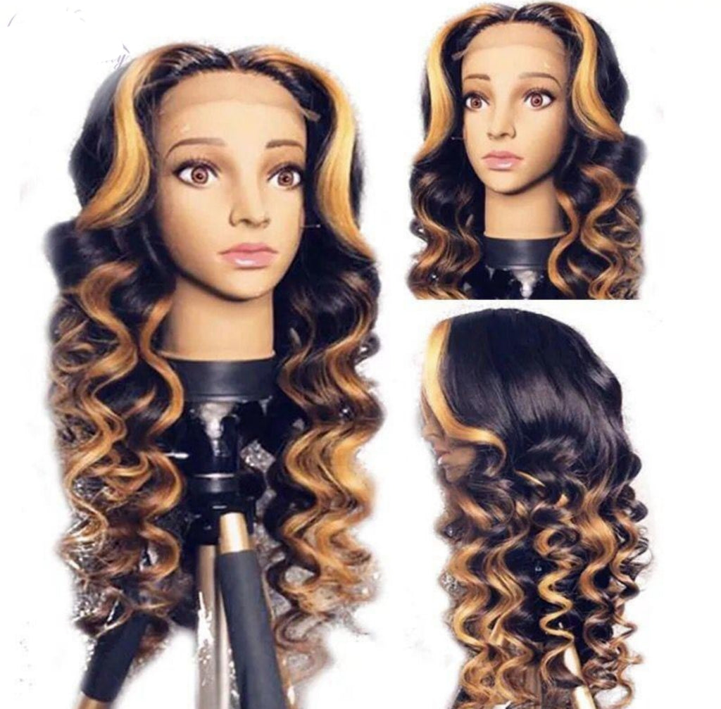 Brazilian Full Lace front Human Hair Pre Plucked Natural Hairline wigs - Jeybeauty