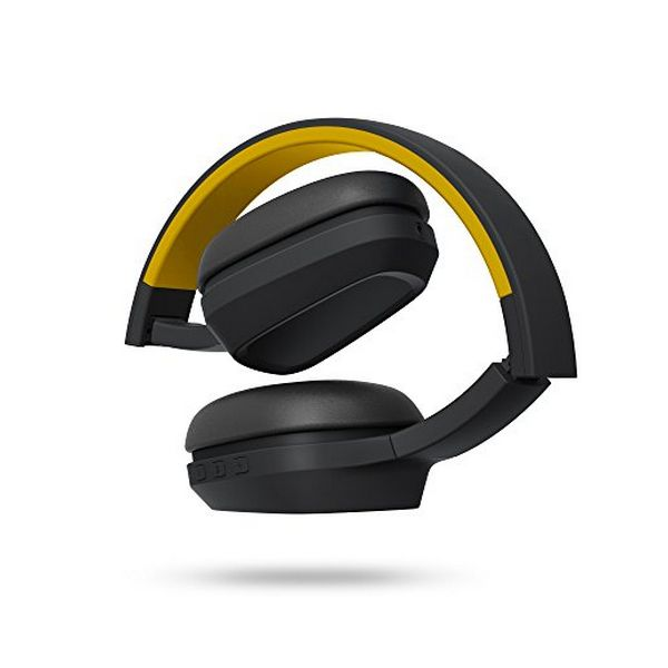 Bluetooth Headset with Microphone Energy Sistem 429325 | Yellow - Jeybeauty
