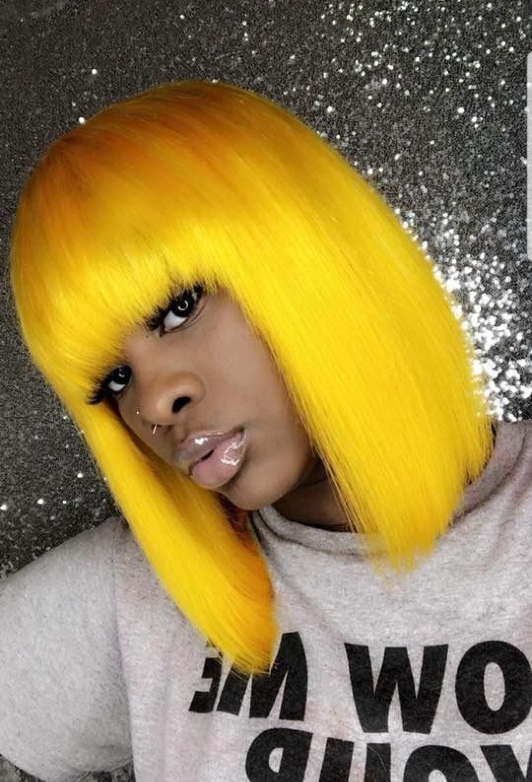 Colourful Lace Front Wigs - Jeybeauty