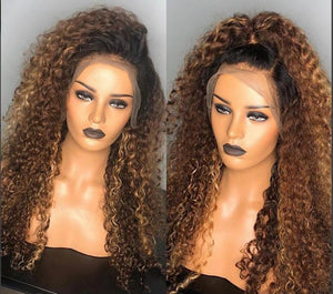 Tone Ombre Blonde Human Hair Bundle Deal - Jeybeauty