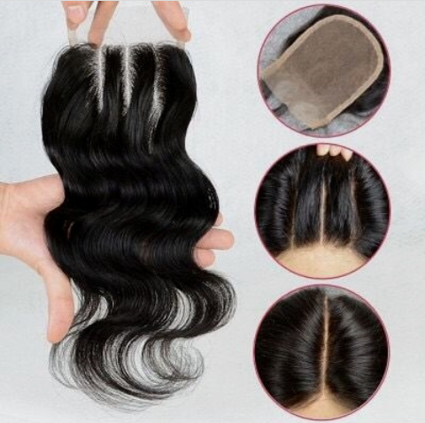 Brazilian Body Wave Virgin Hair Free Part 4*4 Lace Closurer - Jeybeauty