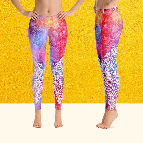 Calm Mandala Women's Leggings - Jeybeauty