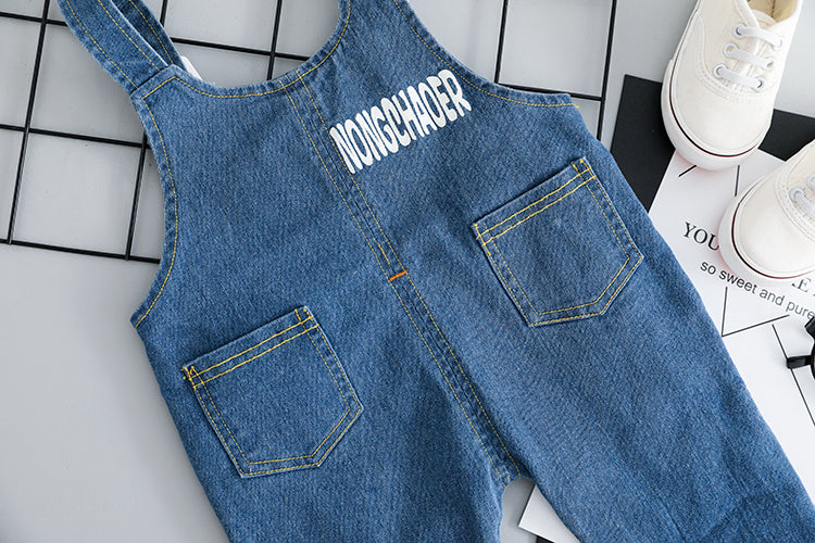 High Quality Unisex Cute Baby  Denim Set - Jeybeauty