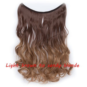 Invisible Wire No Clip Hairpieces - Jeybeauty