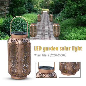 Vintage Solar LED Garden Lights - Jeybeauty