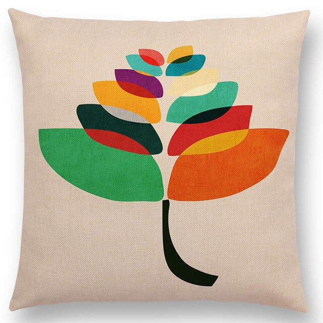 Beautiful Leaves Cushion Cover - Jeybeauty