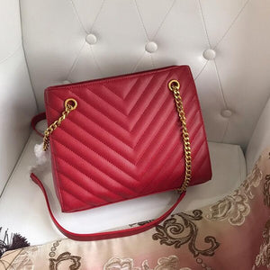 Genuine leather luxury handbags - Jeybeauty