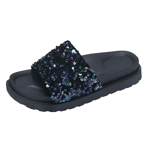 Dames Bling Shining Slides slippers - Jeybeauty