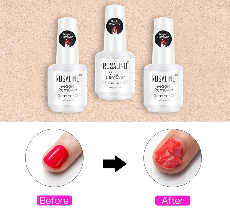 Magic Nail Polish Remover - Jeybeauty