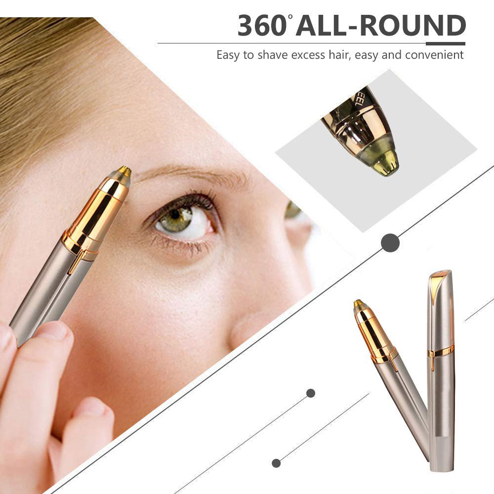 Mini Painless Eye Brow Epilator - Jeybeauty