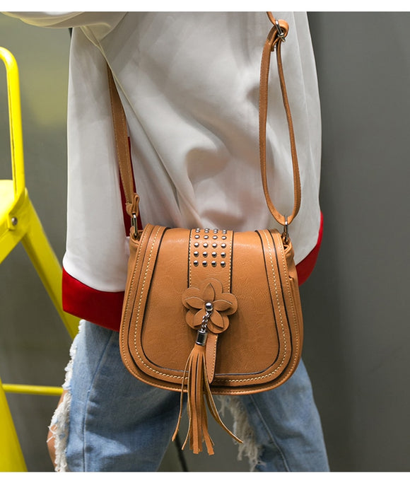 High Quality Tassel Cross body Bag - Jeybeauty