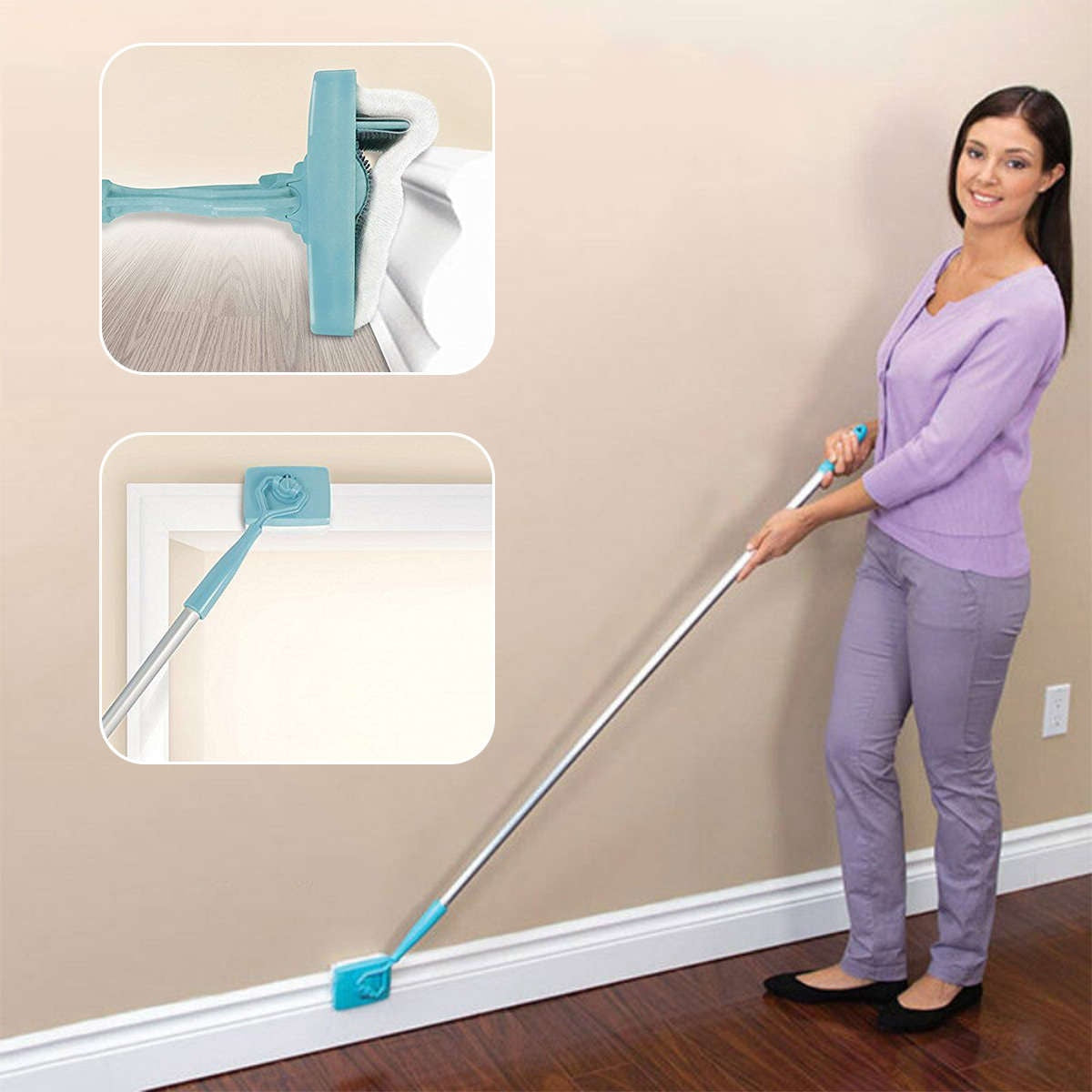 Multi-Function 360 Degree Microfiber Baseboard Cleaner - Jeybeauty