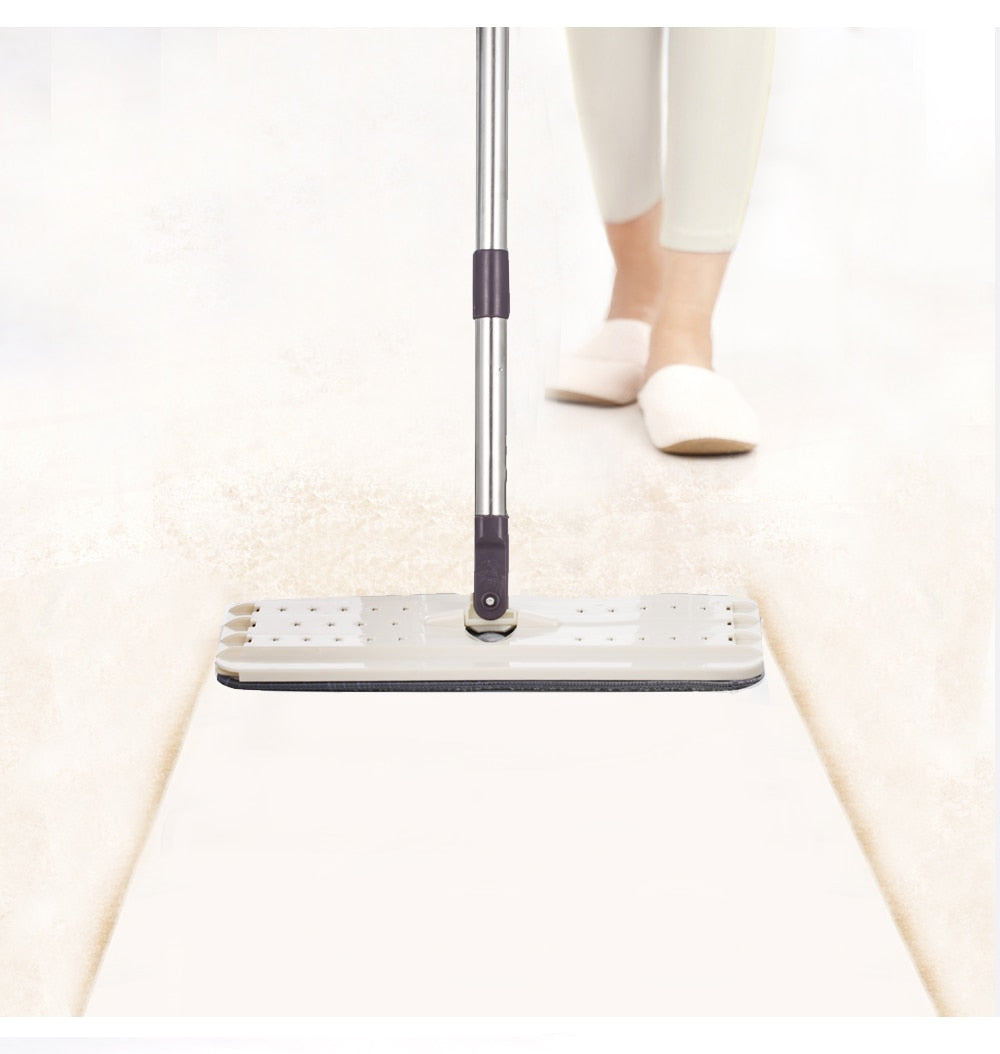 Flat Squeeze Mop and Bucket - Jeybeauty