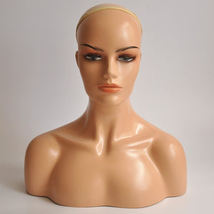 New High End  Female Realistic Mannequin Head - Jeybeauty