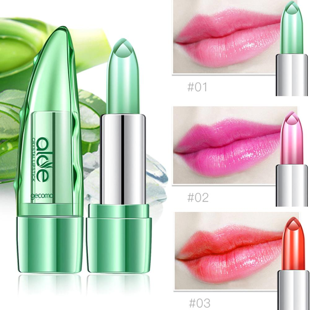 Aloe Vera Moisturizer Color Changing Lipstick - Jeybeauty