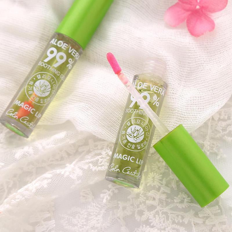 Aloe Vera magic  Moisturizing Lipgloss - Jeybeauty
