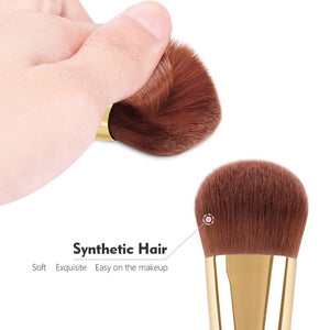 Chubby Pier Foundation Brush - Jeybeauty