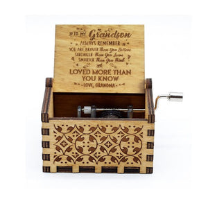 Music Box for Daughter Gifts from Dad, You are My Sunshine - Jeybeauty