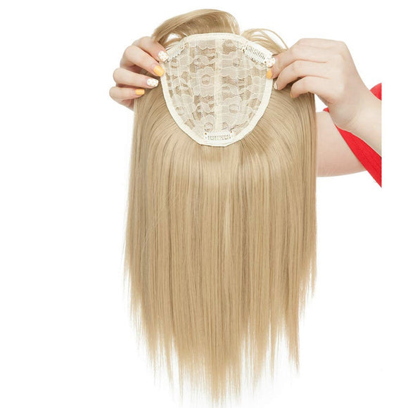 Topper Blonde Hair with Bangs - Jeybeauty