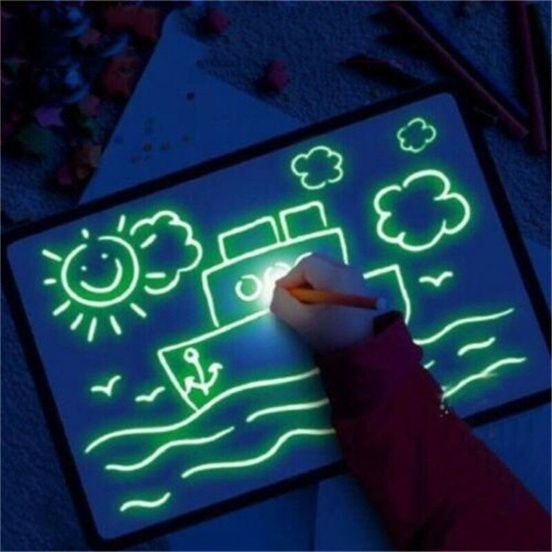 Magic LED Kid Drawing Board - Jeybeauty