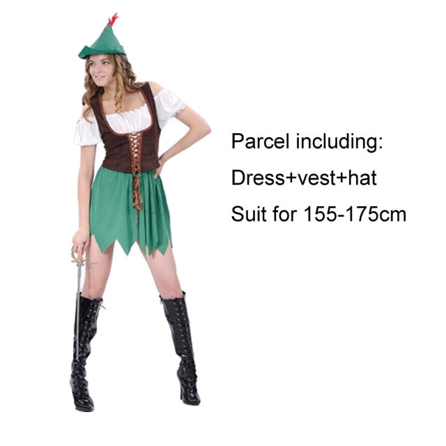 Wizard Elf Hunter Dress