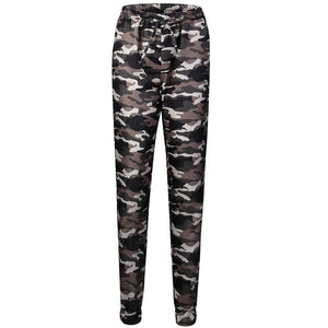 Classic Stretchy Camouflage Jeans