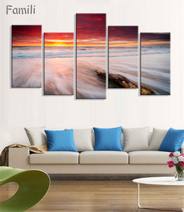 Wall Pictures Mountain Landscape Painting - Jeybeauty