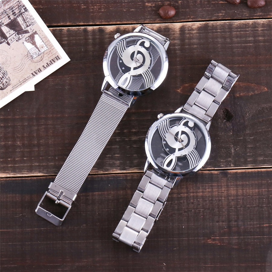 Hollow Music Note Notation Watch - Jeybeauty