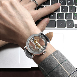 Luxury Hollow Transparent Wrist Watches - Jeybeauty