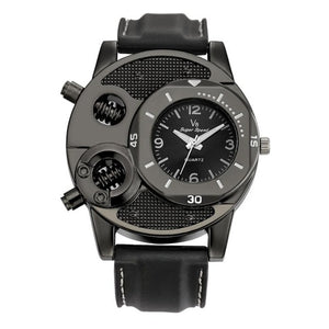 Sports Men's Thin Silica Gel Students  Quartz Watch - Jeybeauty