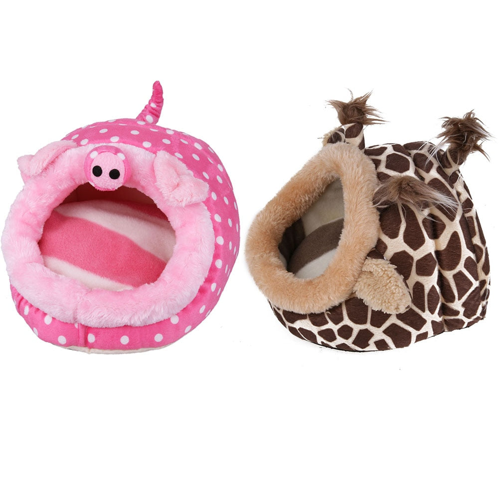 Plush Soft Guinea Pet House - Jeybeauty