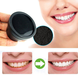 NEW Natural Organic Activated Charcoal Bamboo Toothpaste  Teeth Whitening Powder - Jeybeauty