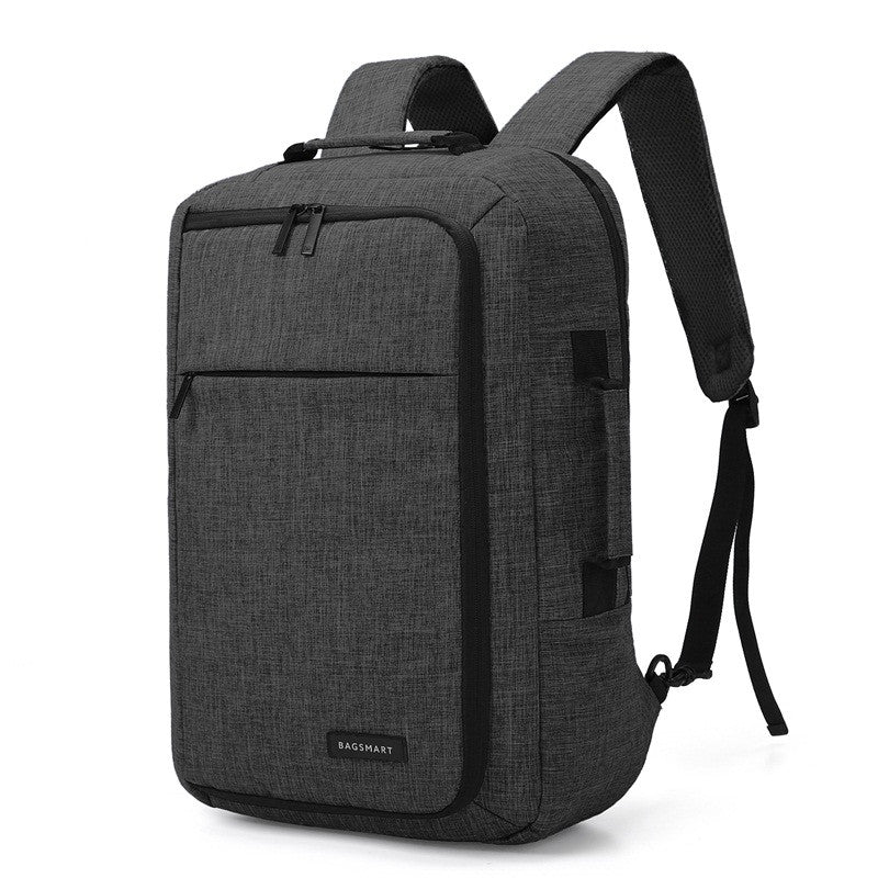 Unisex 15.6 Laptop Backpack Convertible Briefcase 2-in-1 Business Travel Luggage Carrier - Jeybeauty