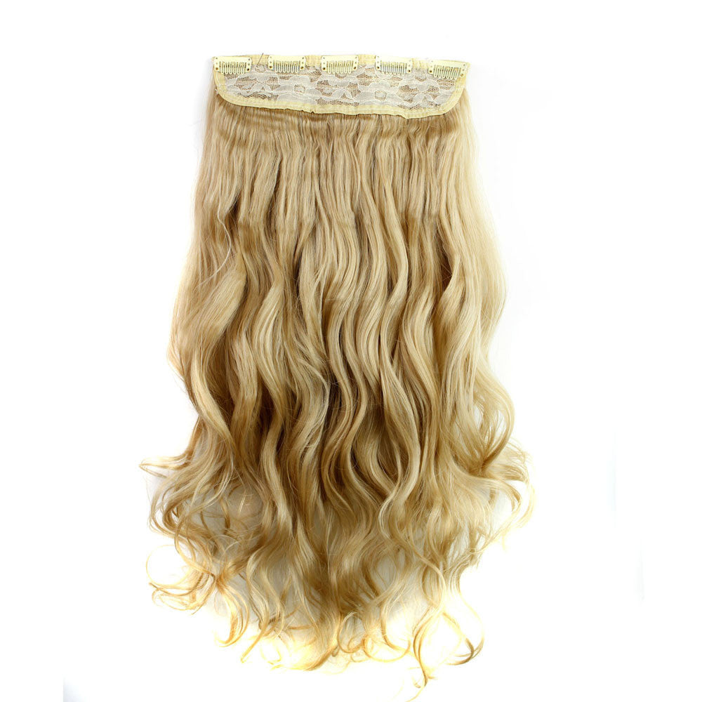 5Pcs Clip Hair Synthetic Hair Extension Curly Heat Resistant Hair - Jeybeauty