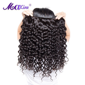 Peruvian Water Wave Human Hair Weave Bundle 1B Non Remy Hair - Jeybeauty