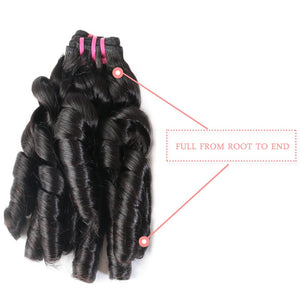 Brazilian Loose Wave Hair 100% Virgin Hair 3pcs Bundles - Jeybeauty