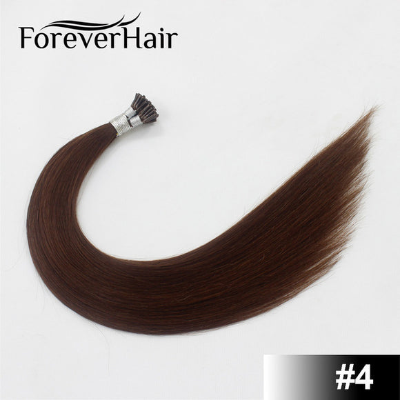 Remy Hair Fusion 100% European Human Hair Extension Keratin Bond - Jeybeauty