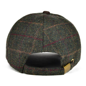 Men Wool Tweed Green Hat - Jeybeauty