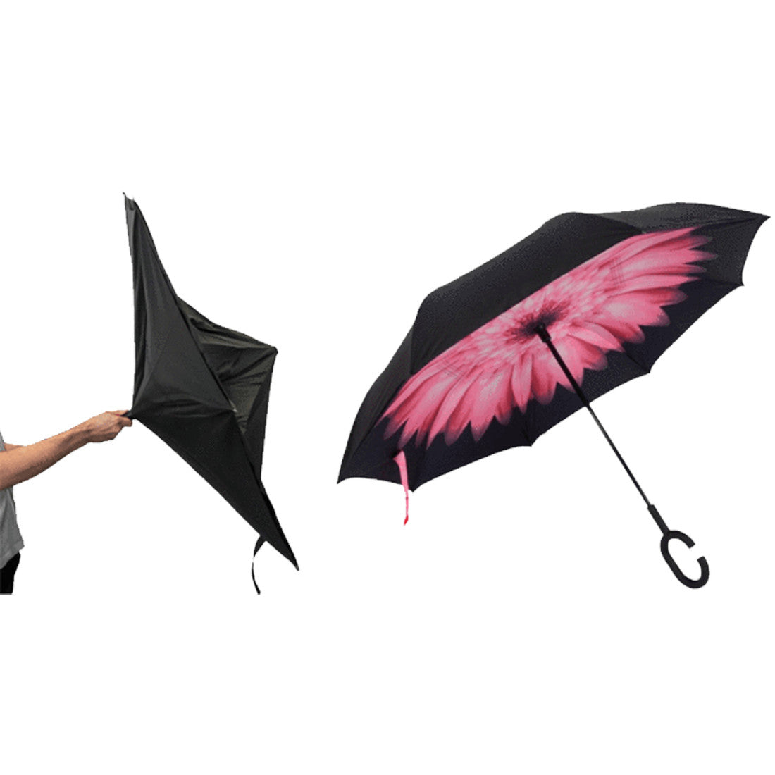 Magic Reversible Umbrella - Assorted Colors - Jeybeauty