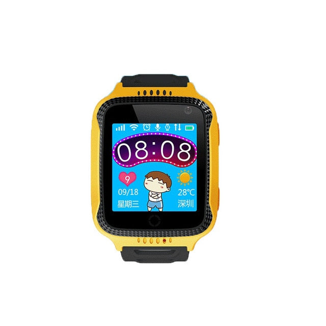 GPS Smart Watch With Camera Flashlight Baby Watch - Jeybeauty