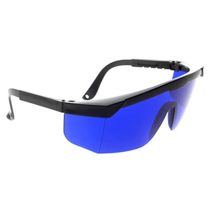 Safety glasses for IPL beauty,golf finding glasses,Golf Ball Finder Glasses Eye Protection,blue lens ship with case clean cloth - Jeybeauty