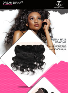 Peruvian Body Wave Ear To Ear Lace Frontal Closure 13x4 Lace Frontal Remy Peruvian Virgin Hair Body Wave Lace Closure - Jeybeauty