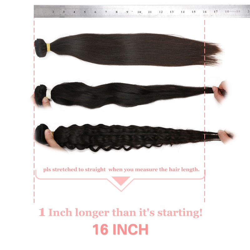 10Pcs Lot Peruvian Water Wave Human Hair Weave Bundles Virgin Hair - Jeybeauty
